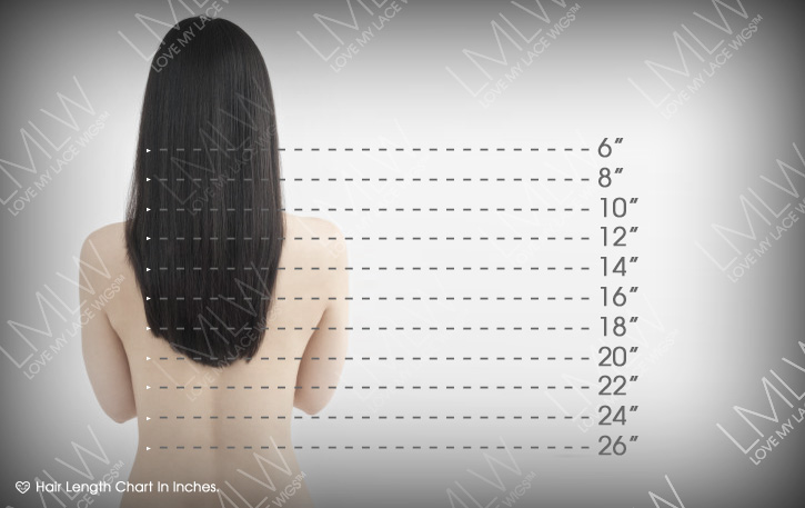 Hair Weave Inches Chart Quality Hair Accessories